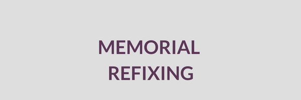 Cemetery Services Block Memorial Refixing