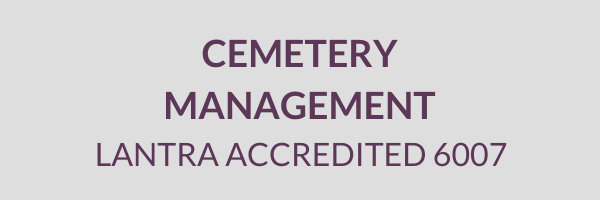 Cemetery Services Block Cemetery Management